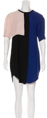 Timo Weiland Colorblock Mini Dress