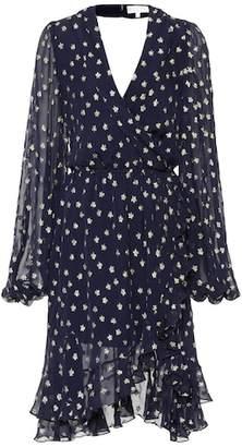 Caroline Constas Olivia silk lamé dress