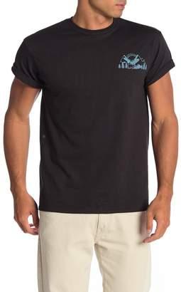 Fifth Sun Bear Scene Short Sleeve Crew Neck T-Shirt