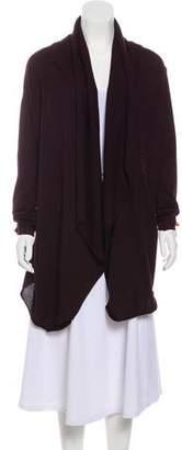 Dolce & Gabbana Virgin Wool Open Front Cardigan