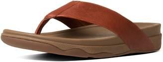 FitFlop SURFER TM Men's Leather Flip-Flops