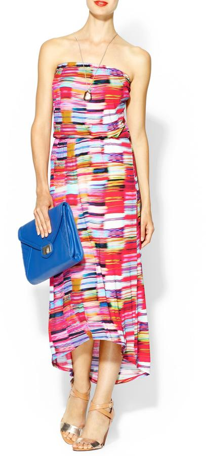 Velvet by Graham & Spencer Kalila Biarritz Print Maxi Dress