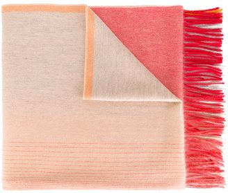 Ps By Paul Smith fringed scarf $215 thestylecure.com