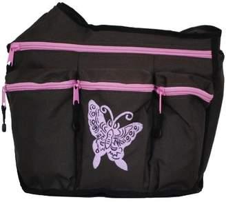 Diaper Dude Butterfly Diaper Diva Bag (Brown/Pink)