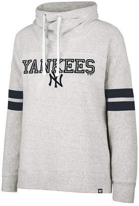 '47 Women's New York Yankees French Terry Funnel Hoodie