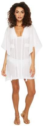 Jantzen Crochet Tunic Cover-Up Women's Swimwear