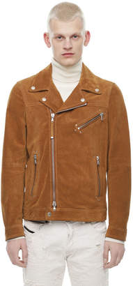 Diesel Black Gold Diesel Leather jackets BGPDY - Brown - 46