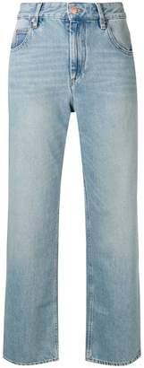 Etoile Isabel Marant wide leg cropped jeans