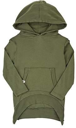 Lennon + Wolfe Robe Cotton-Blend Jersey Hoodie