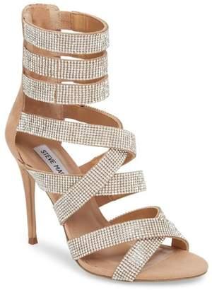 Steve Madden Malika Crystal Embellished Sandal (Women)
