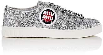 Miu Miu Women's Glitter Sneakers