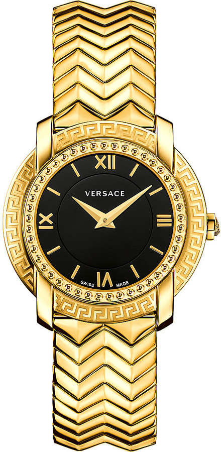 Versace Versace VAM05 0016 gold-toned stainless steel watch