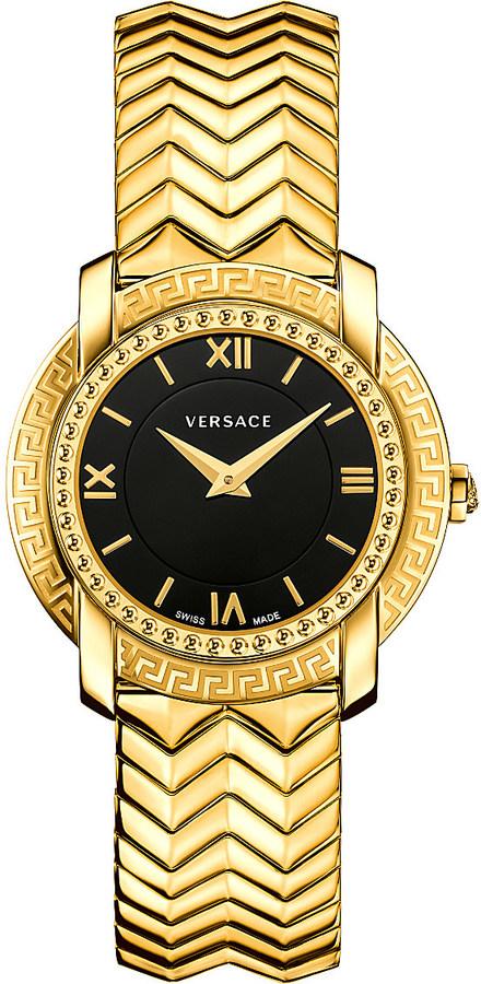 VersaceVersace VAM05 0016 gold-toned stainless steel watch