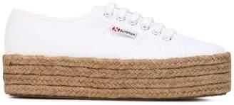 Superga platform lace-up sneakers