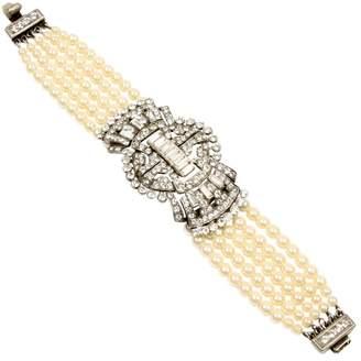 Ben-Amun Ben Amun Pearl Bracelet with Pendant