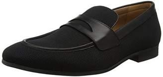 Steve Madden Footwear Men's Enmeshed Loafer (Black), 44 EU