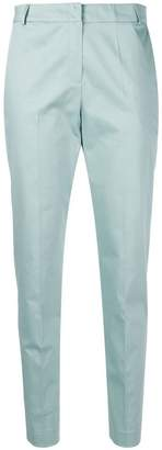 D-Exterior D.Exterior blue slim fit trousers