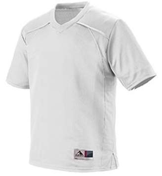 Augusta Sportswear Augusta Drop Ship Adult Polyester Mesh V-Neck Short-Sleeve Jersey