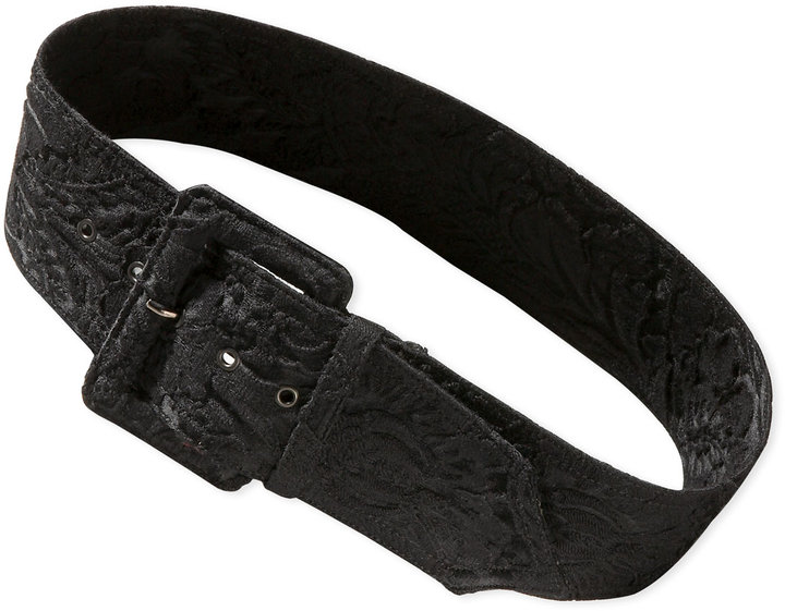 Lanvin Brocade Covered Belt