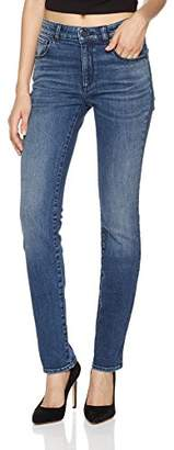Sylvie HALE Women's Iconic Straight-Leg Jean 32 Seaport Blue