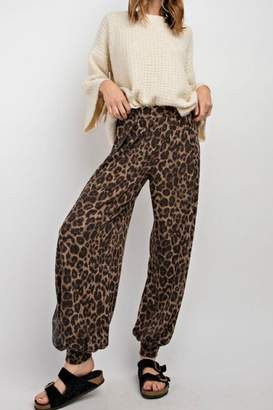Easel Leopard Jogger Pants