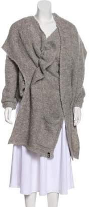 Y-3 Asymmetrical Wrap Cardigan