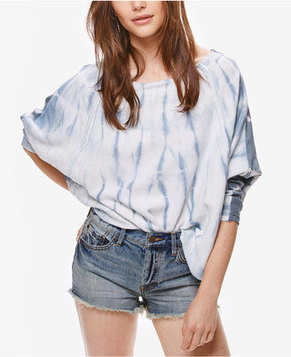 Free People East Meets West Tie-Dyed Sweater $98 thestylecure.com