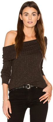 Michael Stars Off Shoulder Sweater $88 thestylecure.com