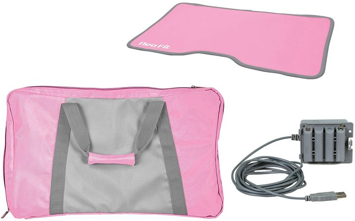 Nintendo DreamGEAR 3-In-1 Lady Fitness Exercise Kit Wii)