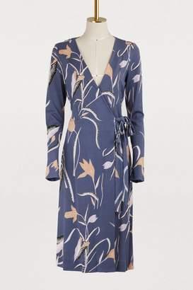 Diane von Furstenberg Short floral print dress