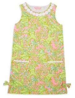 Lilly Pulitzer Toddler's, Little Girl's & Girl's Printed Sleeveless Dress