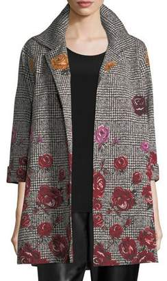 Caroline Rose WMNS ROSE PLAID JACKET