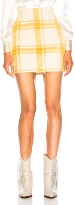 ALEXACHUNG B Line Mini Skirt