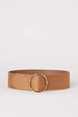 H&M Wide Waist Belt - Beige