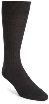 John W. Nordstrom R) Ribbed Merino Wool Socks
