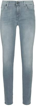 7 For All Mankind Slim Illusion Luxe Super-Skinny Jeans
