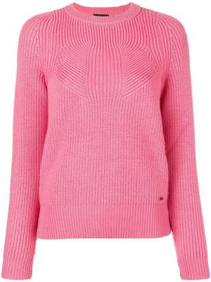 Emporio Armani ribbed knit sweater