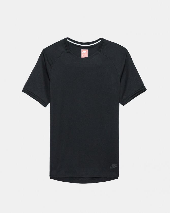 Nike - Sportswear Bonded Short Sleeve Top (Black)