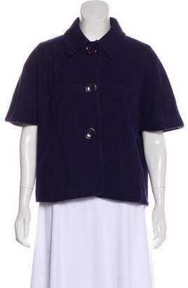MICHAEL Michael Kors Wool Cropped Jacket
