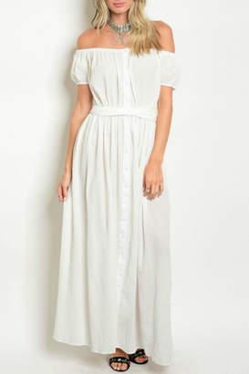 Signature White Maxi Dress