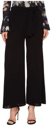 Fuzzi Solid Belted Karate Pants Cover-Up Women's Swimwear
