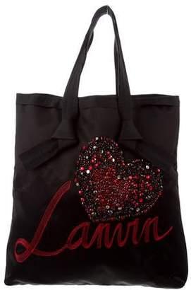 Lanvin Embellished Shopper Tote