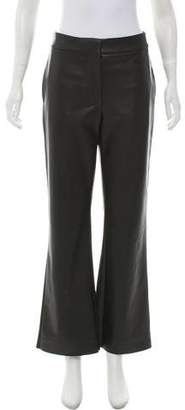 Cédric Charlier Mid-Rise Faux Leather Pants w/ Tags