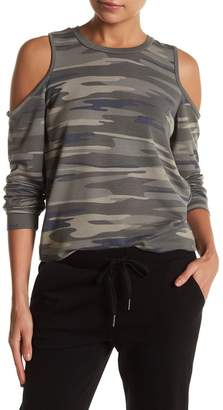 Socialite Cold Shoulder Long Sleeve Shirt