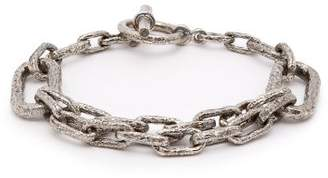Pearls Before Swine Chain Link Bracelet - Mens - Silver