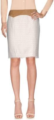 Pianurastudio Knee length skirts - Item 35313378