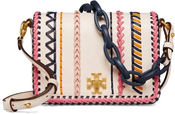 Tory Burch Kira Whipstitch Double-Strap Mini Bag - BIRCH / MULTI - STYLE