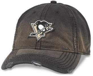 American Needle Pittsburgh Penguins Distressed Nero Baseball Cap