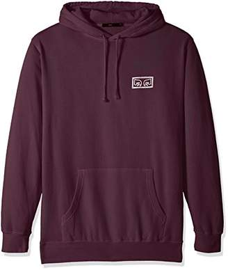Obey Men's Eyes Basic Pullover Hood Fleece Sweatshirt