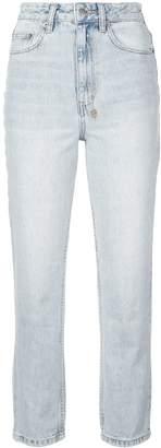 Ksubi high rise cropped jeans